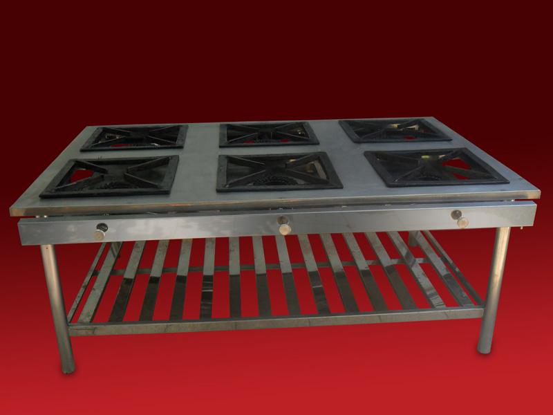 Cocinas industriales todo calor gastronom a industrial for Cocina wok industrial